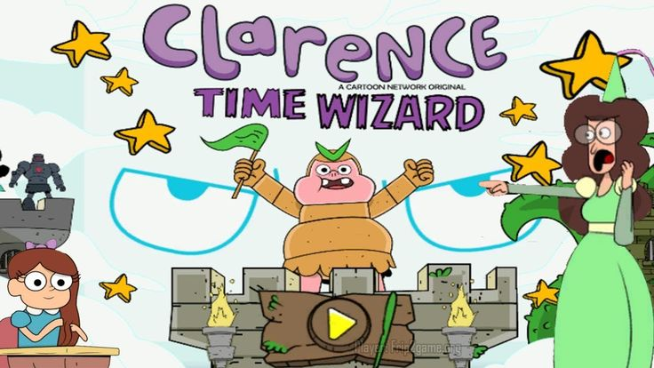 Time Wizard | Clarence Games | Cartoon Network
