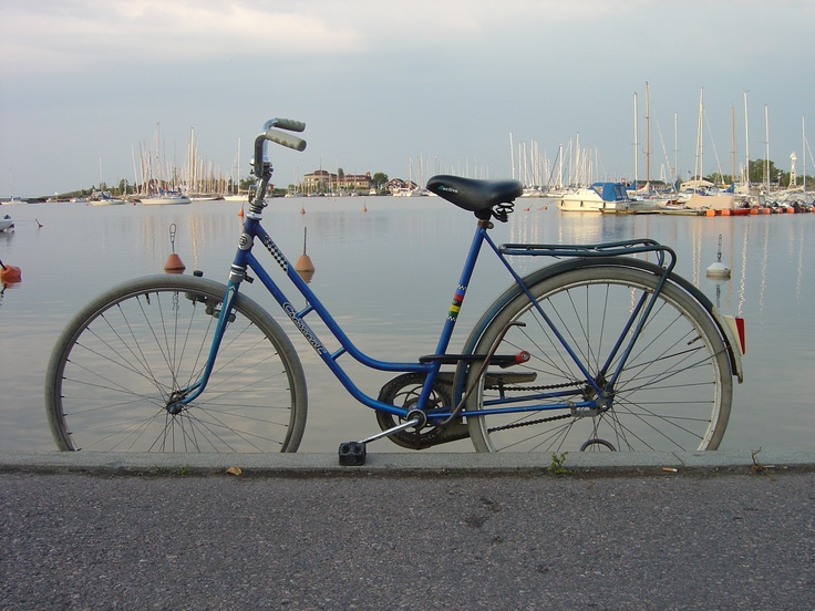 Forgotton bike at the harbour