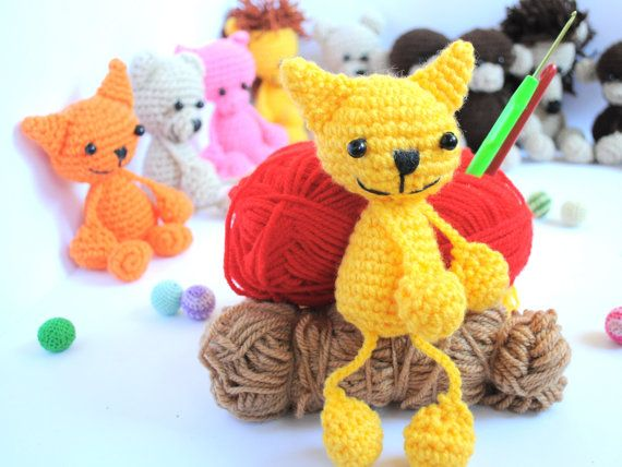 Amigurumi Cat Doll : 117 best amigurumi creatures : images on pinterest amigurumi doll