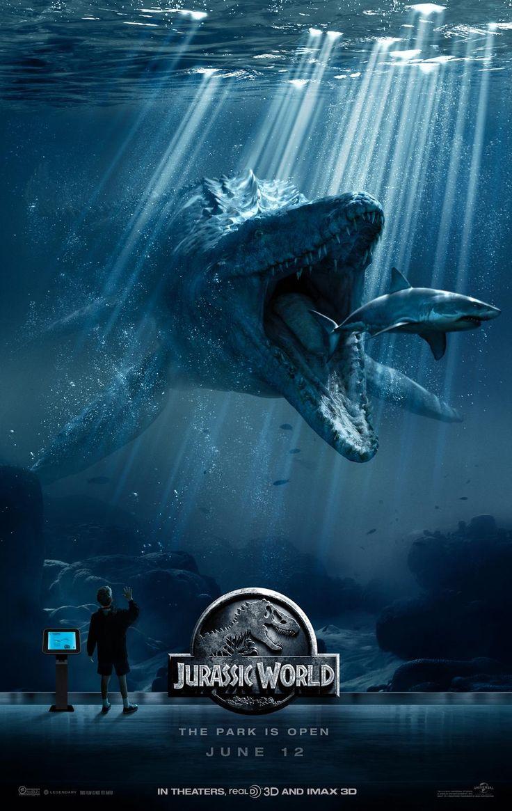 JURASSIC WORLD - Neues Poster - http://filmfreak.org/jurassic-world-neues-poster/