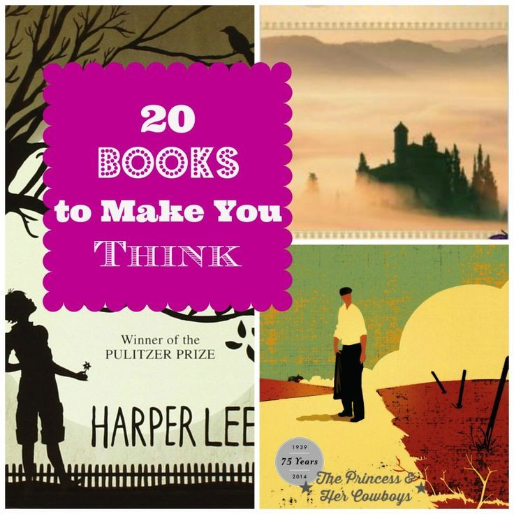 20 Books to Get You Thinking l The Princess & Her Cowboys