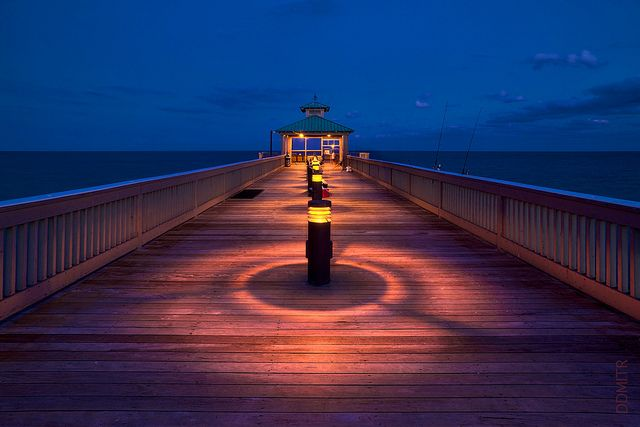 Deerfield beach fishing pier deerfield beach florida for Vero beach fishing pier