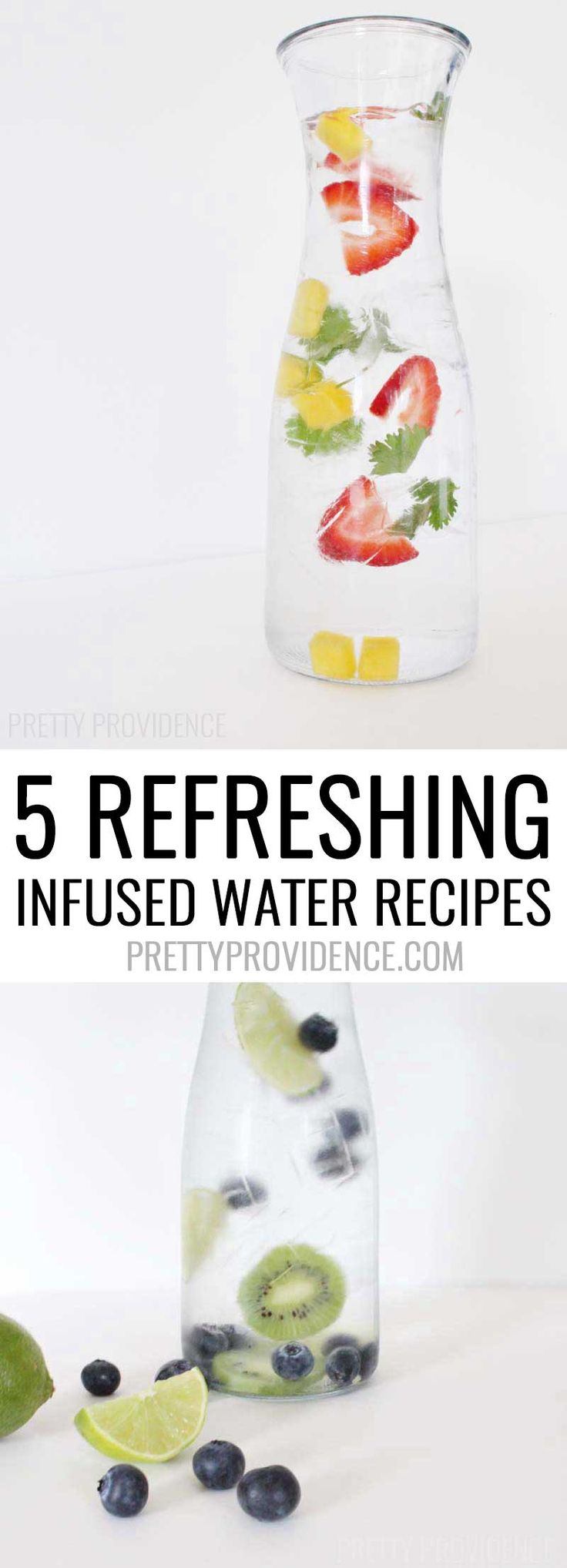 DIY infused water from MichaelsMakers Pretty Providence