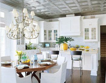 25 best ideas about tin ceiling kitchen on pinterest House beautiful com kitchens