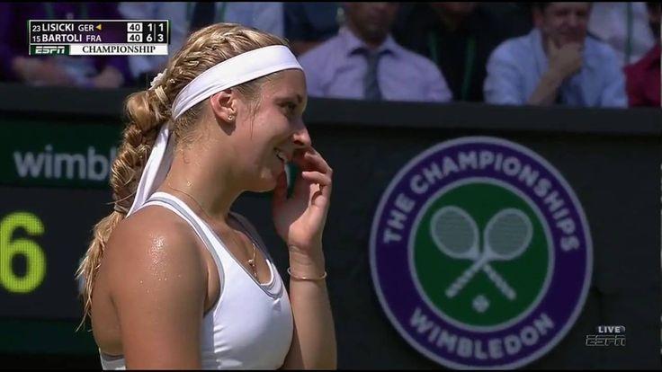 Marion Bartoli VS Sabine Lisicki Highlight (WC) 2013 Final