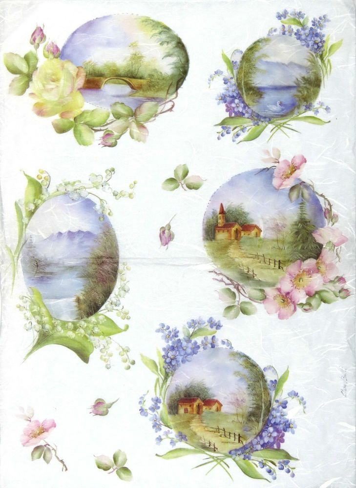 Craft Rice Silk Paper Napkin For Classic Decoupage