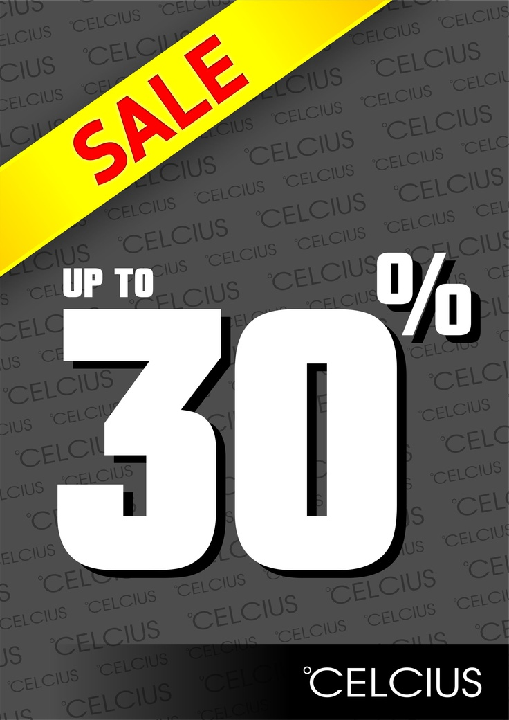 SALE..... SALE.... SALE......  CELCIUS SALE !!!!!    Buat kamu para pria pecinta fashion, kini CELCIUS store di hadir dengan Program Sale 30 %. Dapatkan segera product kesayangan kamu sekarang, sebelum kehabisan !!! :)    Program Sale 30% hanya berlaku di celcius di kota :  Bontang, Pekalongan, Jayapura, Tegal PM, Bengkulu