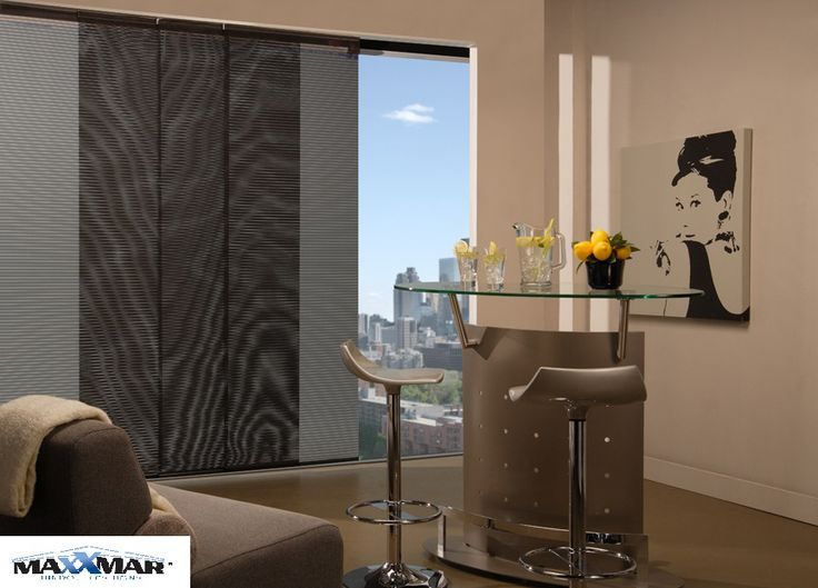 SLIDING PANELS  While expansive windows and patios may provide breathtaking views, they also require large-scale shading solutions. In those cases, Graber Panel Accents™ Sliding Panels are an ideal alternative to traditional vertical blinds.