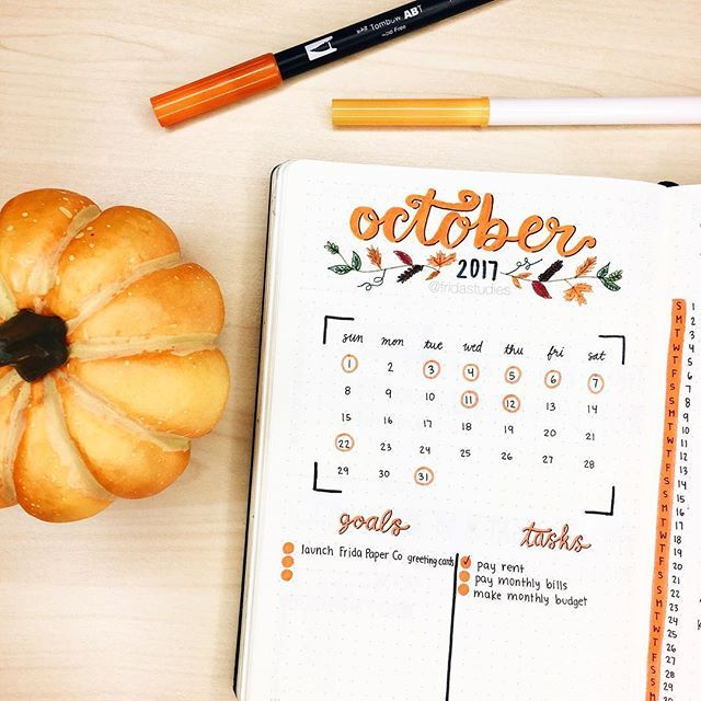 As promised, here is my October monthly spread! Fall is my favorite season so this was really fun for me to decorate. Watch out for more fall-themed spreads coming your way soon! ☺️✨ #HelloOctober —— QOTD: What's your favorite part about fall? Mine would definitely be the fact that stores start selling pumpkin flavored EVERYTHING. I also love seeing the pretty leaves that start falling off the trees.