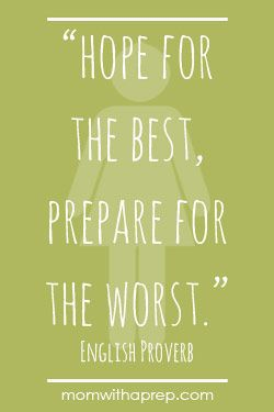 A Few Good Preparedness Quotes For Motivation Survival