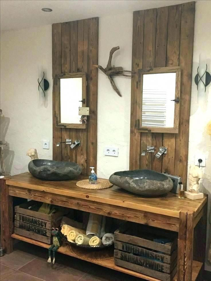 46 Rustic Industrial Bathroom Furniture Ideas Bathroomdesignideas Rustic Bathroom Designs Rustic Bathroom Vanities Industrial Bathroom Design