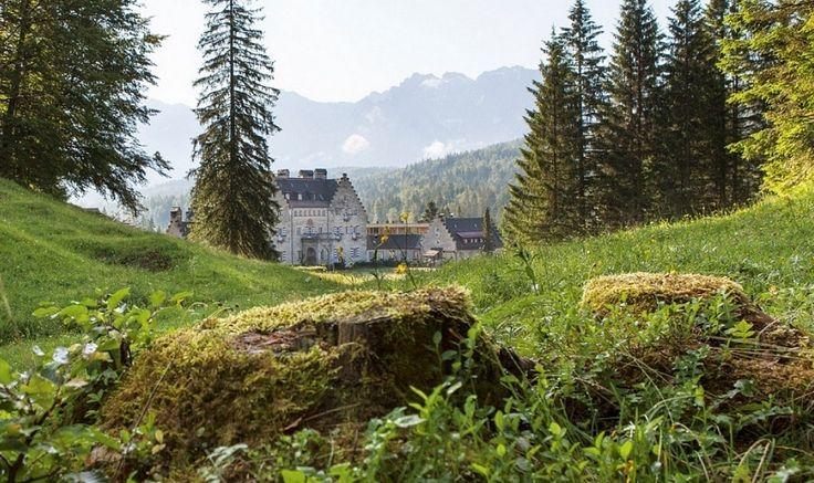 Das Wellnesshotel in Bayern, Garmisch / Deutschland. Erleben Sie einen Natururlaub im idyllischen Bergtal am Fuß der Zugspitze. (@ via Kranzbach) - www.daskranzbach.de