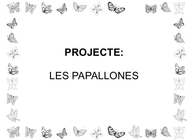 Presentacio papallones fitxetes by mrocinante via slideshare