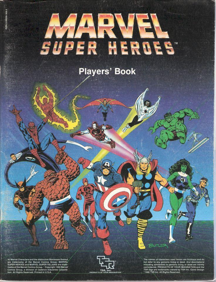 Marvel Super Heroes RPG (TSR)