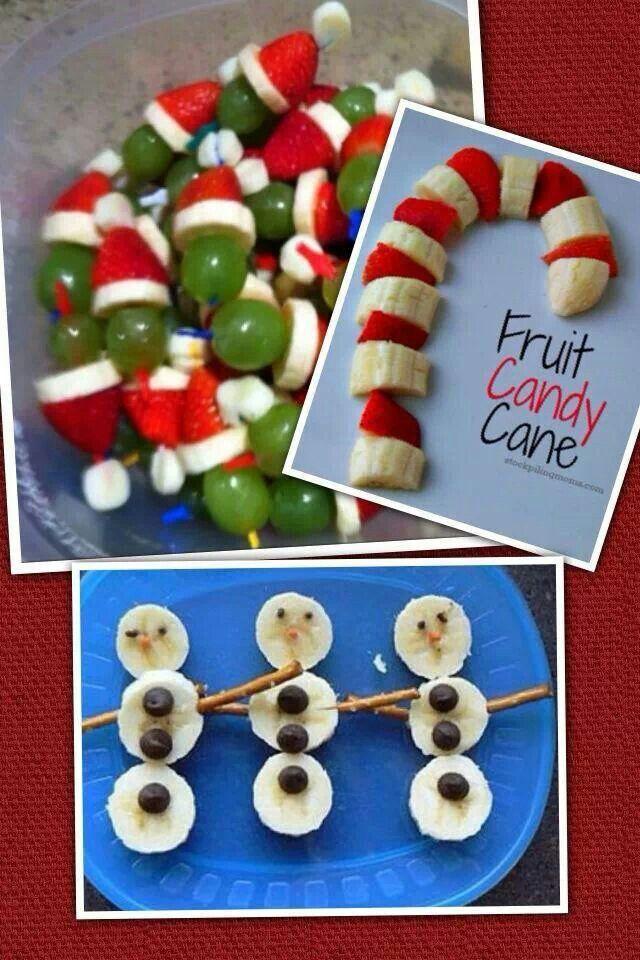 healthy fruit snacks for kids christmas fruit cake