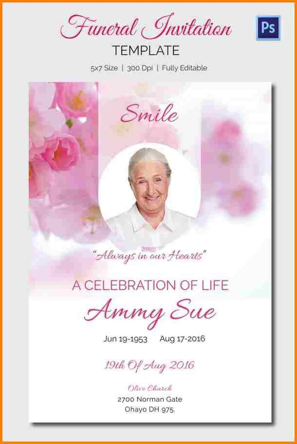 Best 25+ Funeral Invitation Ideas On Pinterest Funeral Ideas   Funeral  Announcement Template Free  Funeral Announcement Sample