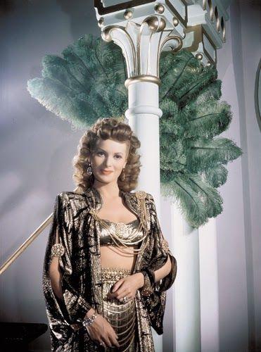 "Maureen O'Hara in ""Sinbad the Sailor"""