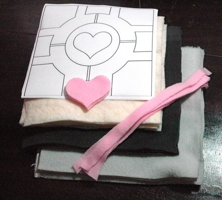 How to Sew a Plush Companion Cube (with Pictures) - wikiHow