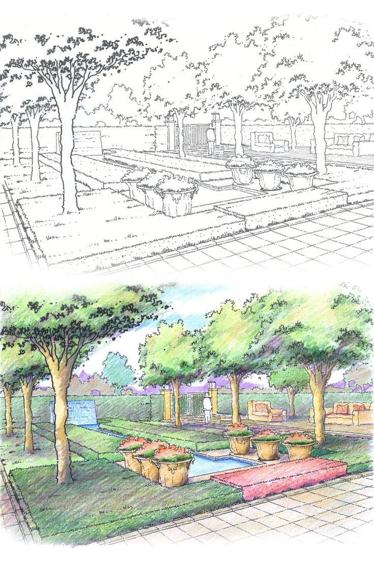 Landscape Architecture Perspective Drawings 27 best landscape design illustrations and perspectives images on