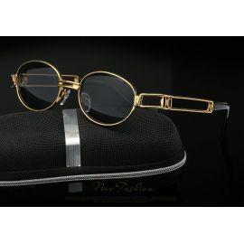 Hip Hop Retro Small Round Sunglasses Women Vintage Steampunk
