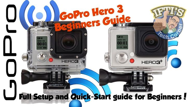 A complete beginners guide to setting up and starting to use your new GoPro Hero 3 or 3+ camera!! Also includes some tips & tricks for the more advanced user...
