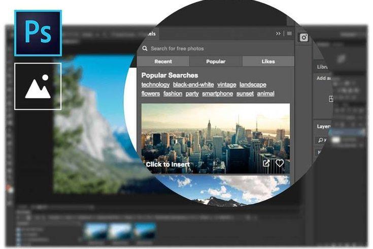 PEXELS plugin : accédez à des milliers de photos dans Photoshop