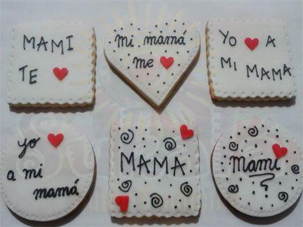 galletas decoradas para las madres - Buscar con Google