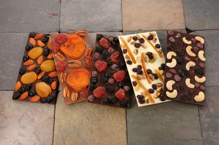 For the fruit & nut lover...Cocoa Dolce introduces Tavalozzas, our rustic Italian-style chocolates.