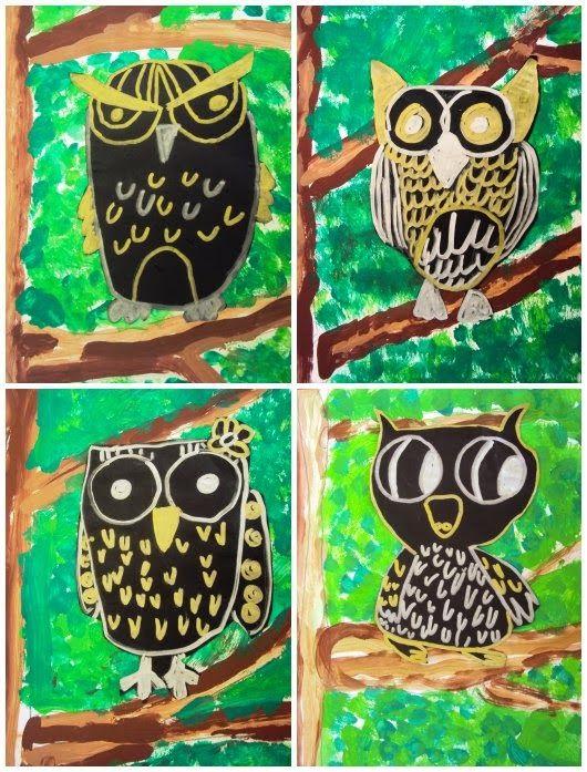 Owl - 2nd grade