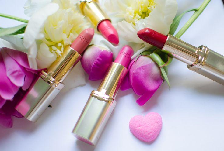 another side of me: L'oreal Paris Color Riche lipsticks {review}