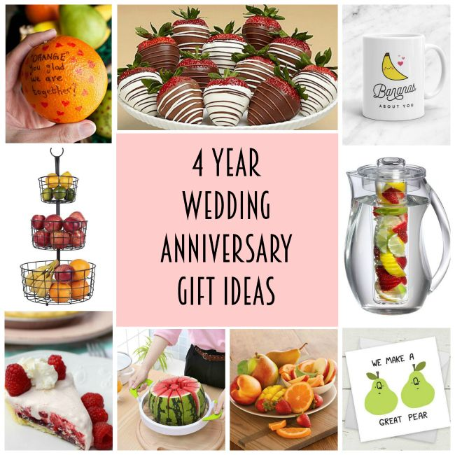 4 Year Anniversary Gift Ideas 4th Year Anniversary Gifts 4 Year Anniversary 4 Year Wedding Anniversary