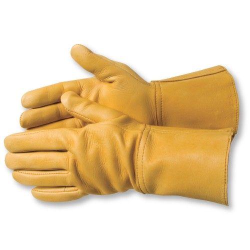 Aerostich Deerskin with Gauntlet Gloves