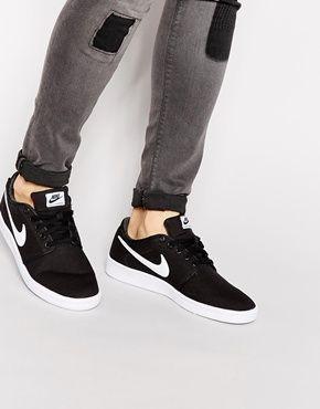 Nike Court Supreme Canvas Trainers