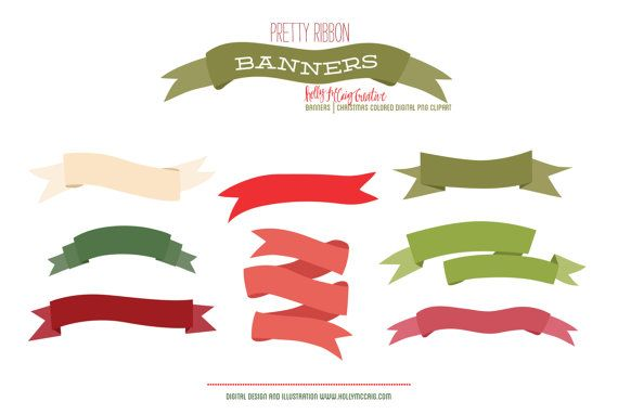 Buy 2 Get 2 Free  Banner Clip Art  Ribbon Banners  by HollyMcCaig