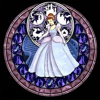 Croix broderie pour Cendrillon Kingdom Hearts par TheStitchingGirl