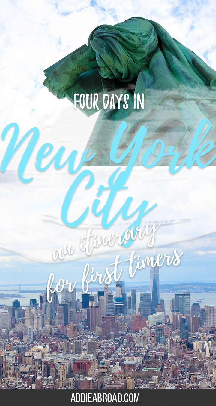 Looking for the perfect New York City Itinerary? Well, if you have only four days in New York City then you're in luck - check out this post for the perfect itinerary for first timers and tips on what to do in New York City!
