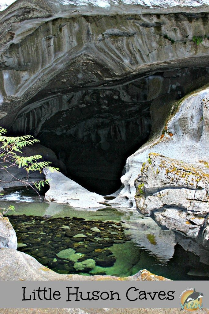Little Huson Caves Regional Park offers us a spectacular taste of the rich karst topography found on Vancouver Island, even for those that don't wish to go underground!