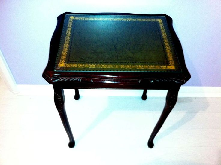 Elegant Antique Coffee / Occasional / Side Table. Pre 1970 s. Bevelled Glass top