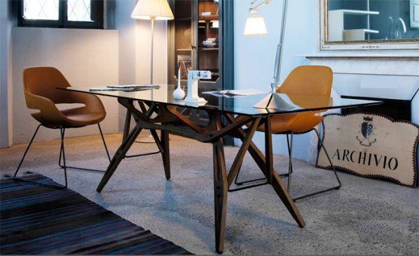 Tavolo Reale - design Carlo Mollino - Zanotta