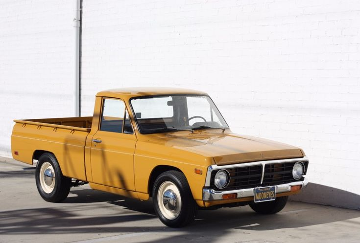 1973 Ford Courier Maintenance of old vehicles: the material for new cogs/casters/gears/pads could be cast polyamide which I (Cast polyamide) can produce