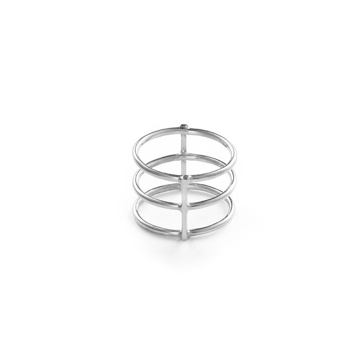 Lines Ring - Sterling Silver / Free Series