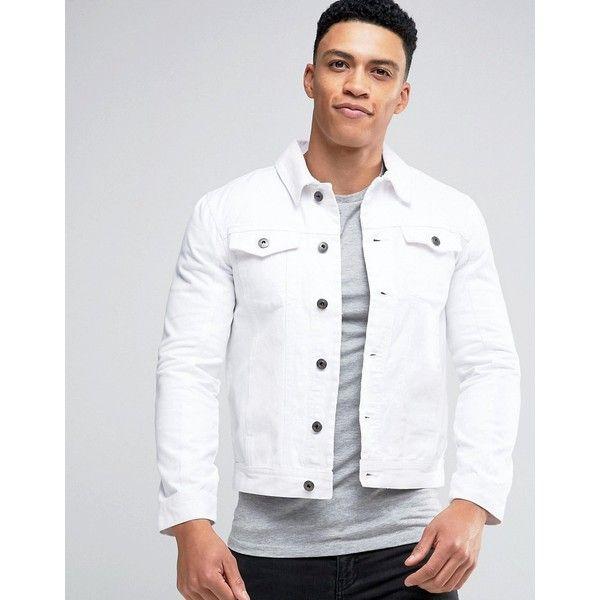 25  best ideas about White Denim Jacket Mens on Pinterest | Denim ...