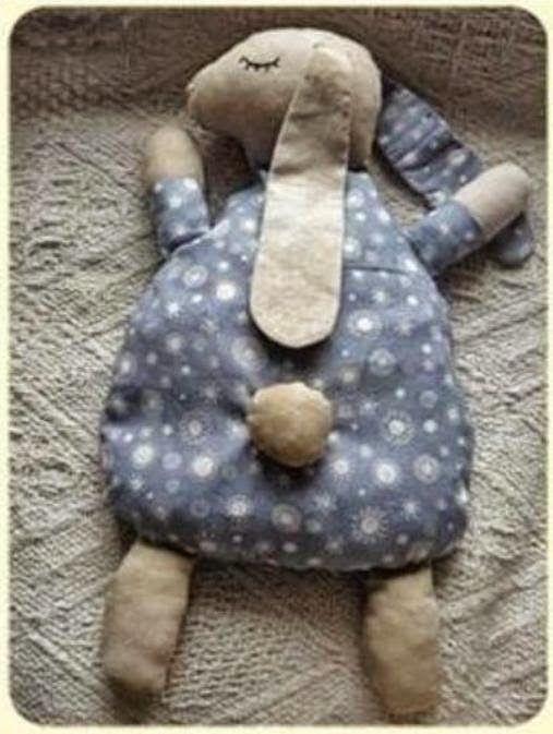 Cantinho da Bé: Artesanato de almofadinha infantil coelhinho com m...