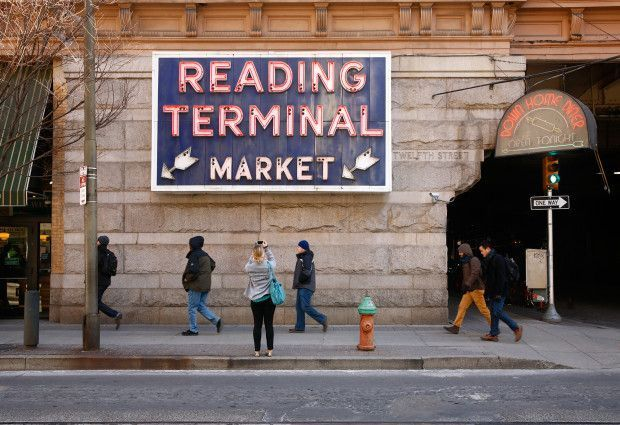 Philadelphia's Reading Terminal Market: A foodie paradise for people from every walk of life, and a great Philadelphia tradition.