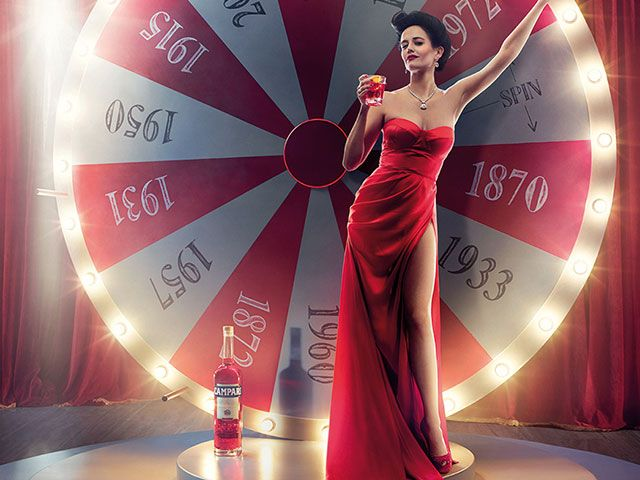 Il calendario 2015 di Campari con Eva Green