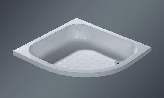 corner shower pan sizes