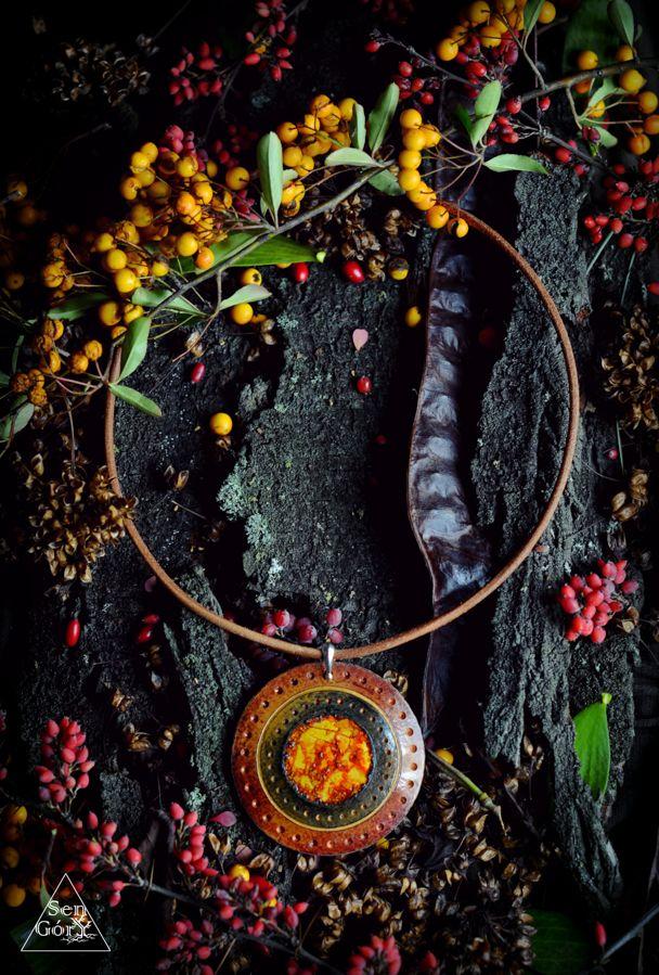 Delicious, ethnic necklace from Sen Góry. www.sen-gory.com