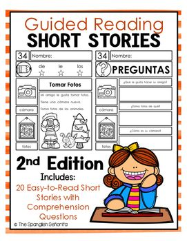 Spanish Guided Reading Short Stories - 2nd Edition