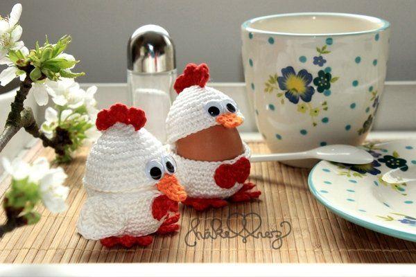 Eierbecher Häkeln Anleitung Kostenlos Eierbecher Häkeln Huhn Als