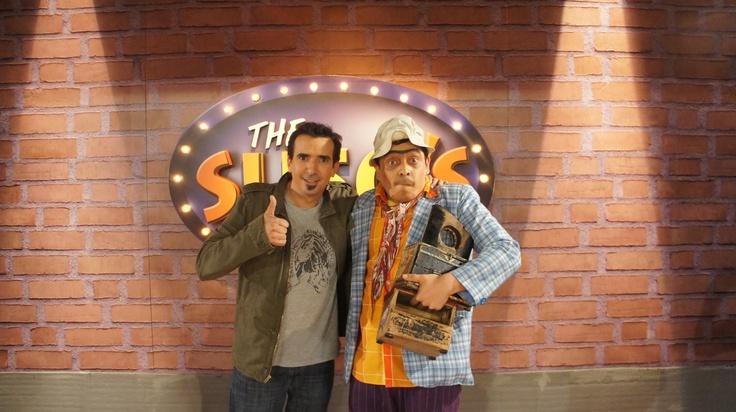 Antonio Sanint, humorista colombiano en The Suso's Show.